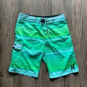 • Men's Hurley Blue Swimsuit •
